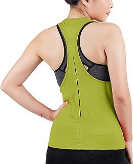 LOFBAZ Workout Tops for Women Fashion Yoga Gym Tank Top Shirts Athletic Clothes