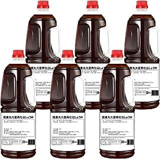 半田の旨味家 国産丸大豆 再仕込醤油 1.8L × 6本/ケース 化学調味料無添加 長期熟成の再仕込醤油