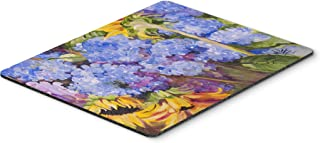 Caroline's Treasures Hydrangeas & Sunflowers Mouse Pad/Hot Pad/Trivet (JMK1119MP)