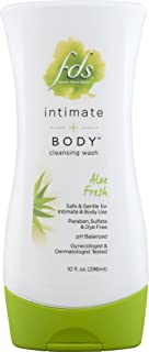 Fds Feminine Hygiene Wash for Gentle Cleansing, Aloe Fresh, 10 Ounce