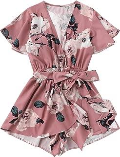 Best pink floral romper Reviews
