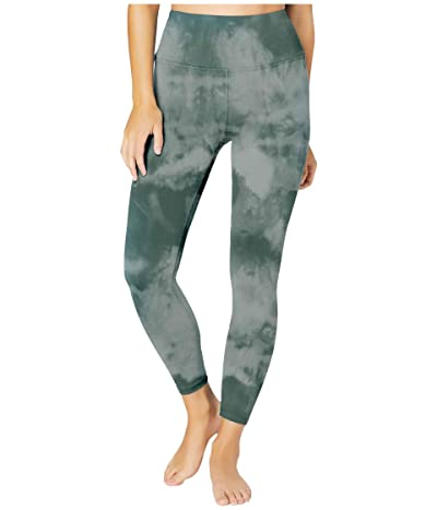 Beyond Yoga Lux High Waisted Midi Leggings (Meadow Sage Smoke) Women
