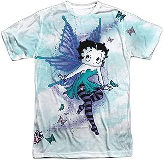 Betty Boop Men's Sparkle Fairy Sublimation T-Shirt White