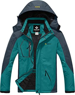 Men's Mountain Waterproof Ski Snow Jacket Winter Windproof Rain Jacket