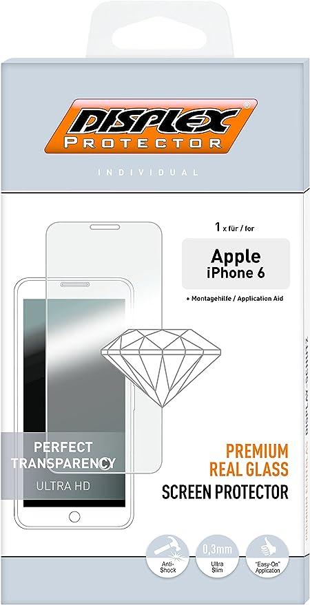 Displex Real Glass 3d Displayschutzglas Für Apple Elektronik