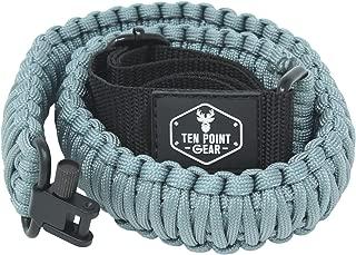 Ten Point Gear Gun Sling Paracord 550 Adjustable w/Swivels (Multiple Color Options)