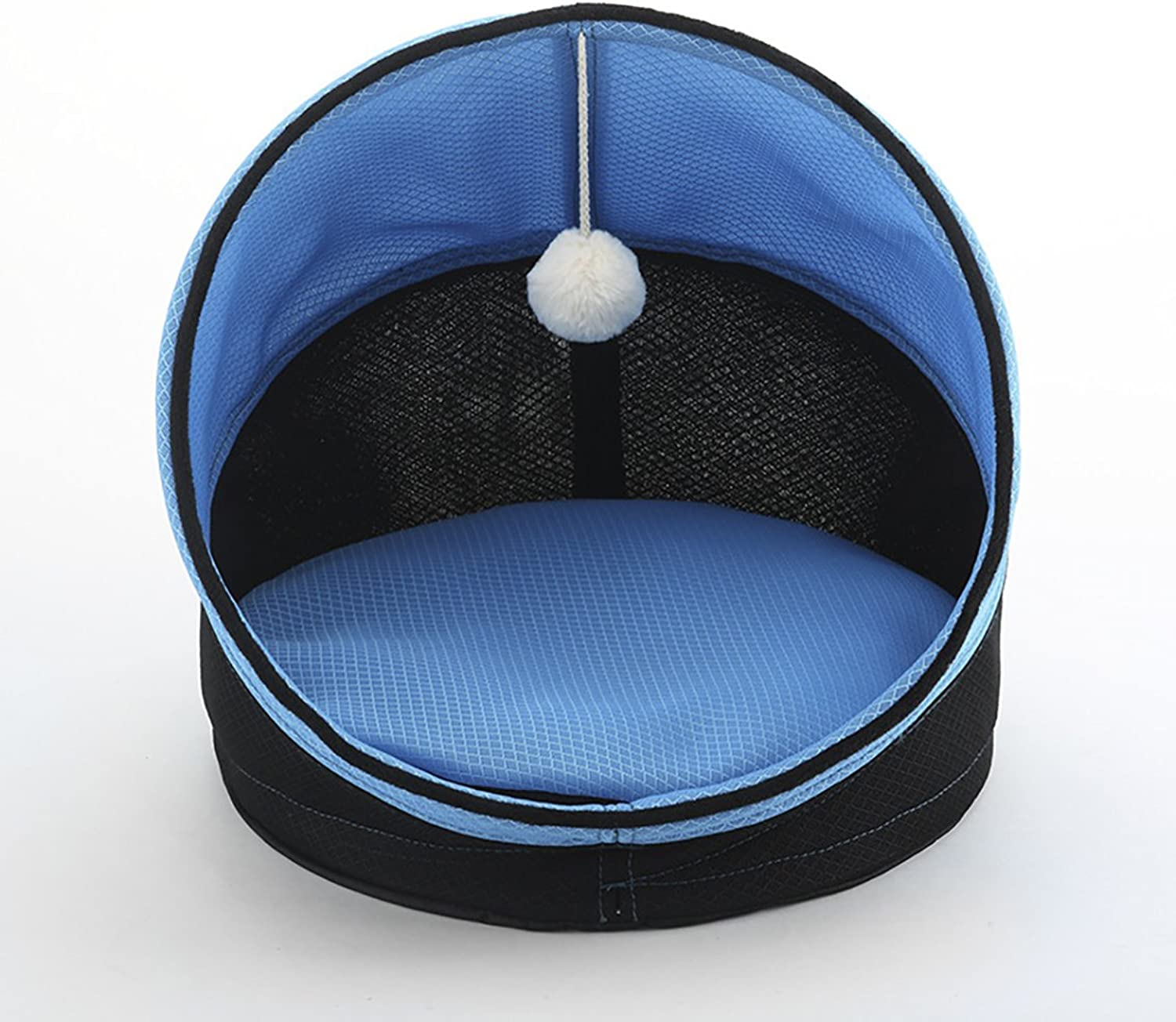 Keedo Pet Cat Bed Portable Foldable Small Dog House Breathable Pet Nest