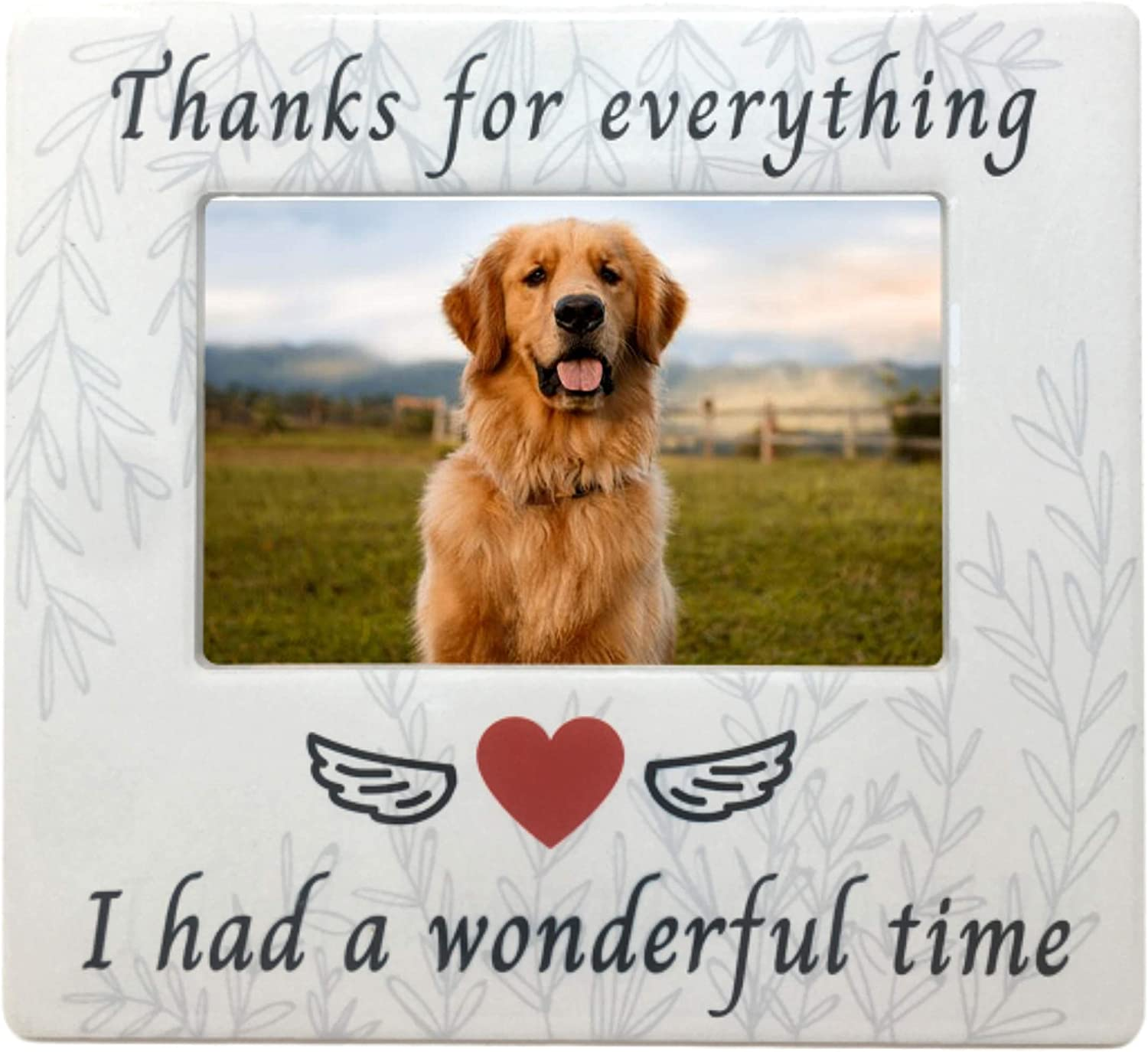 BANBERRY Spasm price DESIGNS Pet Memorial Picture Everyth for Frame Thanks - Cheap mail order sales