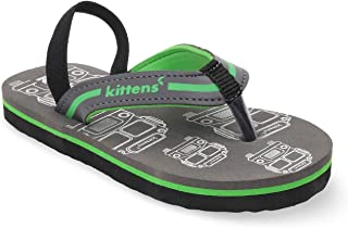 KITTENS Green Flip Flops