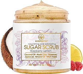 Era Organics Sugar Scrub Body Exfoliator - Spa Quality Sulfate Free Body Scrub with Food Grade Ingredients to Nourish, Moi...