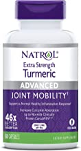 Natrol Extra Strength Turmeric Capsules, Supports Cellular, Inflamatory, Heart, Joint and Brain Health, Clinically Proven ...