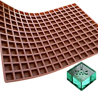 Square Silicone Production Candy Mold - Colorado Ohio State Symbol