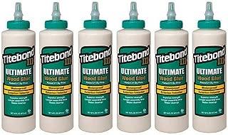 Titebond III Ultimate Wood Glue, 16-Ounces #1414 (6-pack)
