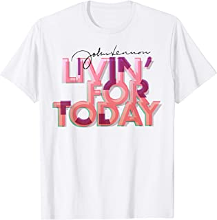 John Lennon - Livin' For Today T-Shirt
