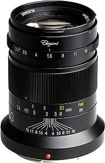 KIPON Elegant 90mm F2.4 Full Frame Lenses for Nikon Z Mount Mirrorless Camera Z6 Z7 (Black)