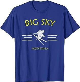 Big Sky Skiing T-Shirt Montana Ski Tee