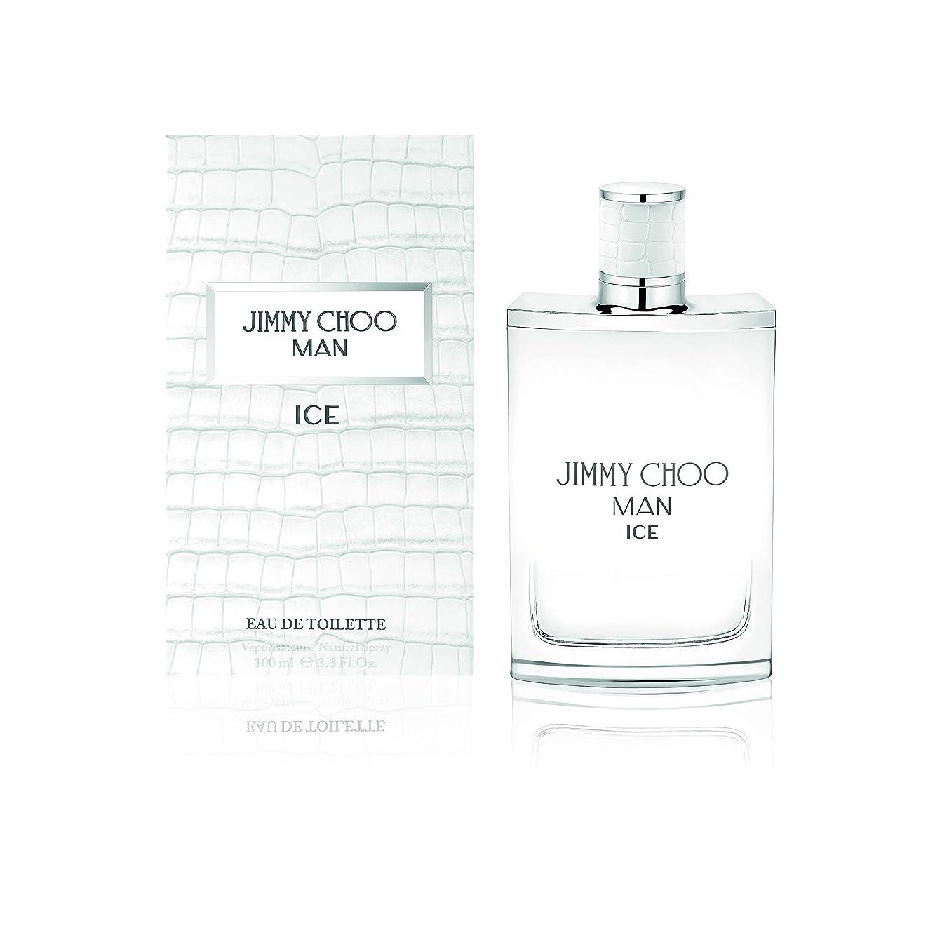 手術耐えられるアウトドアJimmy Choo Man Ice (ジミー チュー マン) 3.3 oz (100ml) EDT Spray for Men