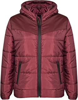 Kids Jackets Boys Girls Padded Puffer Bubble Zipped Hooded Warm Thick Coat 3-13Y