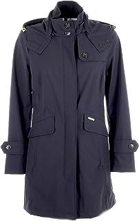 Woolrich Mujer WWCPS2718UT01023126 Azul Nylon Trench Coat