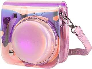 CAIUL Compatible Mini 9 Groovy Camera Case Bag for Fujifilm Instax Mini 8 8+ 9 Camera - Transparent Illusion