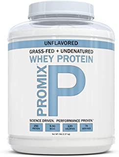 Grass Fed Whey Protein   5lb   Unflavored Whey from California Cows   100% Natural Whey   2 Ingredients w/ No Sweeteners o...