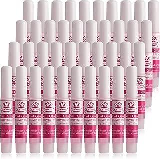Makartt 40 pcs Nail Glues - Adhesive Super Bond For Acrylic Nails Professional Nail Glue Long Lasting 0.07 oz/pcs, A-19