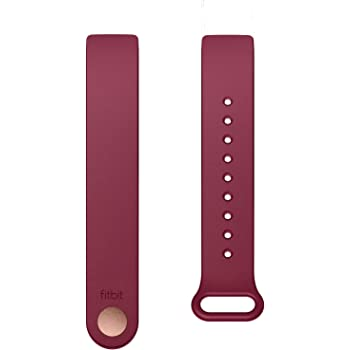 Fitbit Inspire Classic Accessory Band, Official Fitbit Product, Sangria, Small