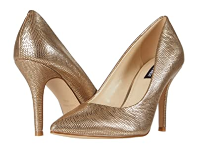 Nine West Flax Pump (Gold) High Heels