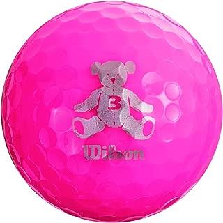 Wilson(ウイルソン) ゴルフボール BEAR3 1ダース 12個入り