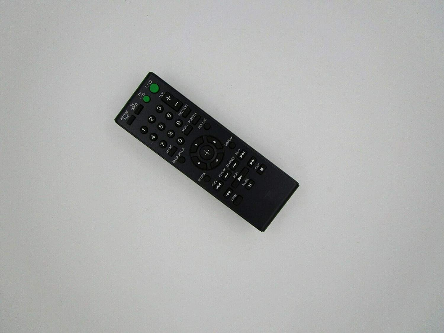 Replacement Remote Control for Sony SMP-N100 SMP-N200 Network Media Streaming Player