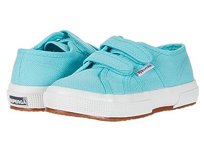Superga Kids 2750 JVEL Classic (Toddler/Little Kid) (Blue Light Crystal) Kids Shoes