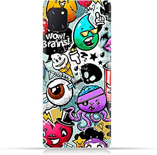 AMC Design TPU Mobile Case Cover for Samsung Galaxy note 10 lite with Bizarre Characters Pattern
