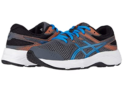 ASICS Kids GEL-Contend 6 (Little Kid/Big Kid) (Carrier Grey/Directoire Blue) Boy