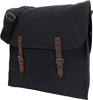 Jumbo Canvas Medic Bag, Black
