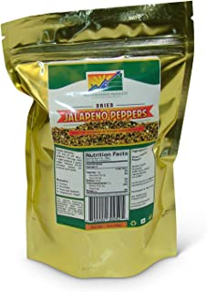 Mother Earth Products Dehydrated Jalapeno Peppers (2 Cup Mylar Bag)
