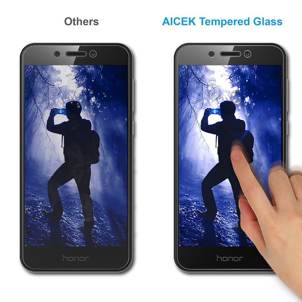 AICEK [2-Pack] Protector de Pantalla Honor 6A, Cristal Templado ...