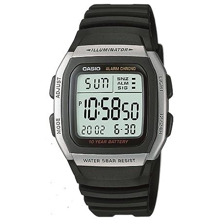 [カシオ] 腕時計 スタンダード W-96H-1AJF ブラック