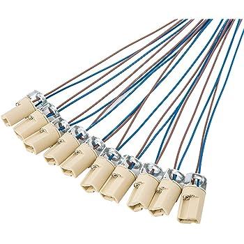 5 stücke G9 Buchse Kabel Keramik Stecker LED-Licht Lampenfassung BasisversoT 0U