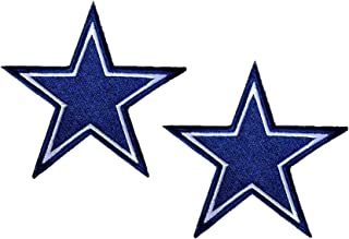 Dallas Cowboys Football Team Logo Iron on Football Jersey Hat Patches