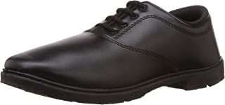 Action Shoes Boy's Black Formal Shoes - 10C UK (MA-7)