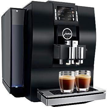 JURA Z6 Independiente Máquina espresso Aluminio, Negro 2,4 L Totalmente automática - Cafetera (Independiente, Máquina espresso, 2,4 L, Molinillo integrado, 1450 W, Aluminio, Negro): Amazon.es: Hogar