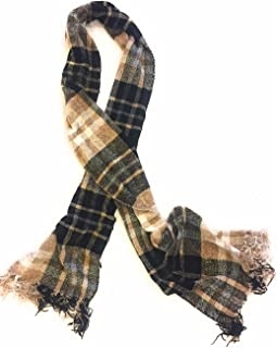 Charter Club Women's Chenille Plaid Scarf