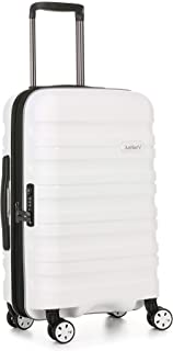 Antler Juno 2 4W Cabin Roller Carry-On Hardside, White, 56cm