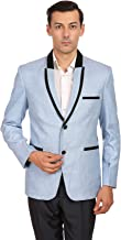 WINTAGE Men's Rayon Two Button Shawl Lapel Party Blazer - Eight Colors