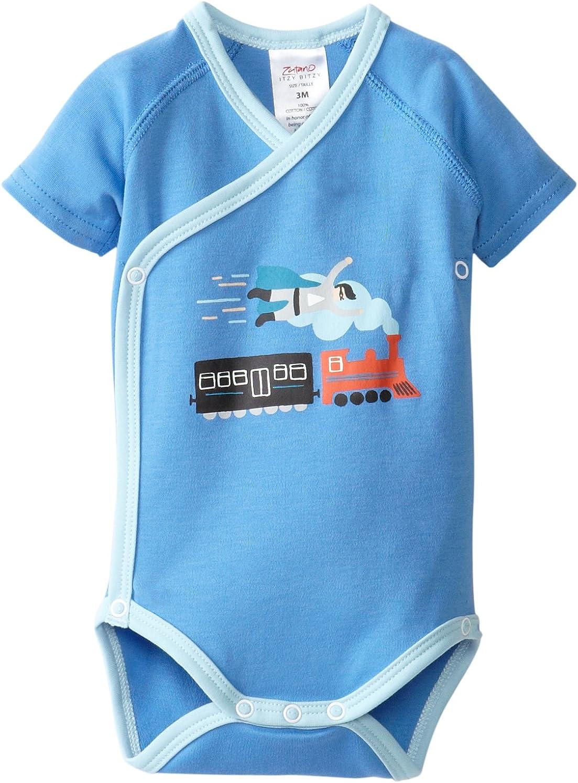 Zutano Baby Boys Little E Screen S//Wrap Body