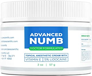 Best Advanced Numb (2 oz) 5% Lidocaine Pain Relief Cream, Lidocaine Ointment, Numbing Cream, Made in USA Review