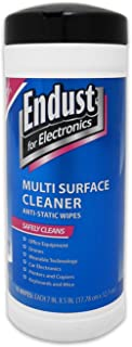 Endust for Electronics Multi-Surface Anti-Static Wipes...