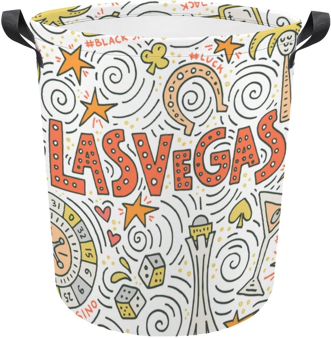 Funny Cartoon Las Los Angeles Mall Soldering Vegas Symbols Gift White Oxford Laundry Travel