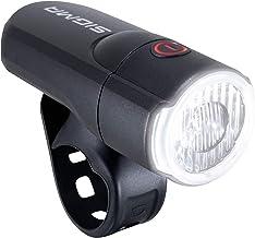 SIGMA SPORT - Aura 30   LED fietslamp 30 Lux   StVZO goedgekeurd, op batterijen werkend voorlicht   Kleur: zwart, effen