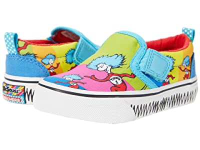 SKECHERS KIDS Sport Dr. Seuss Marley Jr. Things Ran Down 314990N (Toddler) (Multi) Girl